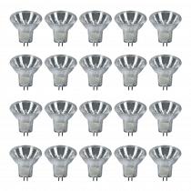 20x Showtec MR11 DECOSTAR 35 TITAN GU4 Bulbs