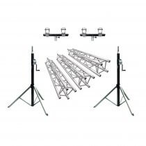 Showtec Truss Wind Up DJ Bundle 6m x 4m Gantry Quad Trussing