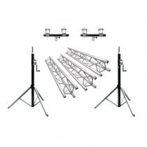 Showtec Truss Wind Up DJ Bundle 6m x 4m Gantry Tri Trussing