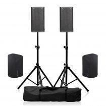 "dB Technologies OPERA 10 2400W 10"" Active Speaker Bundle inc Covers"