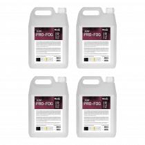 4x Jem Pro Fog Fluid 5 Litre Bottle
