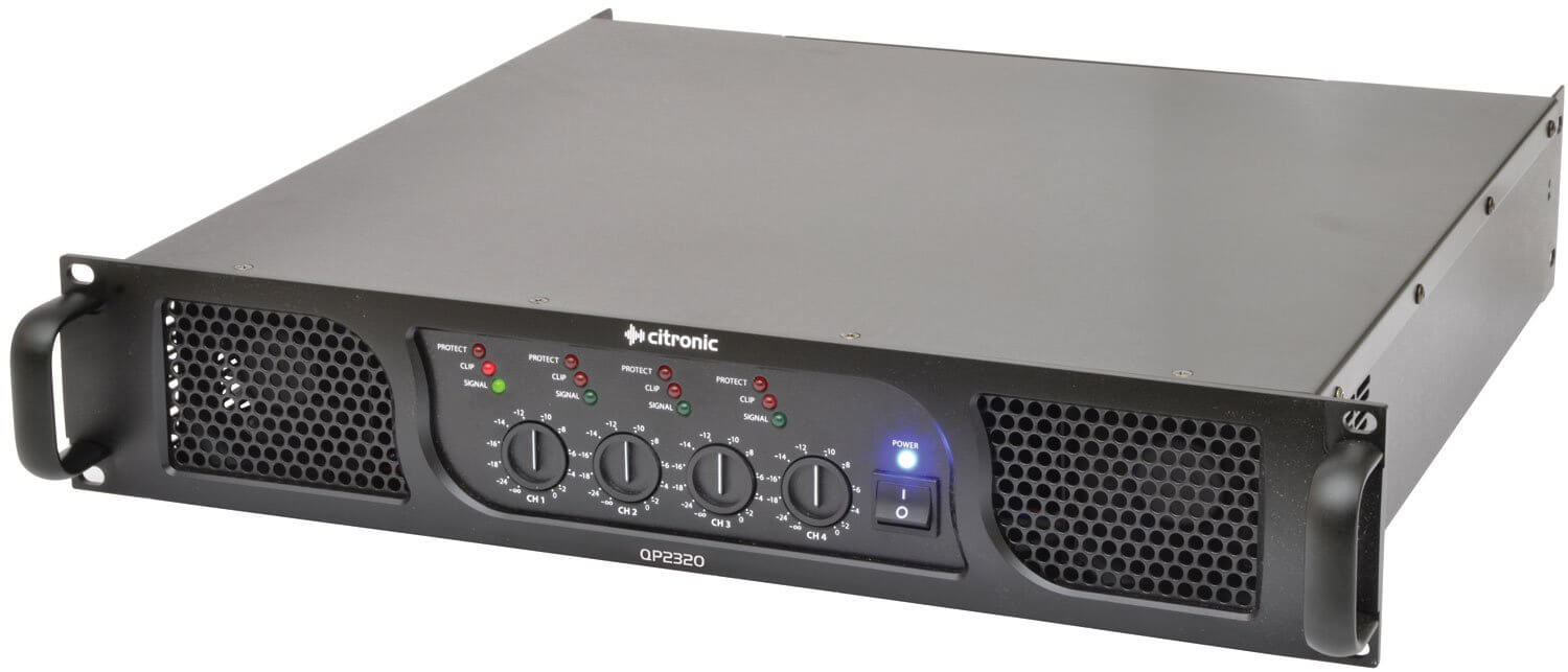 Citronic QP2320 quad power amp 4 x 580W