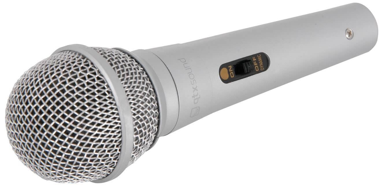 QTX DM11 Dynamic Silver Microphone