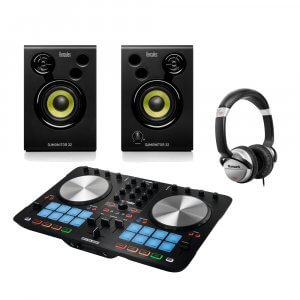 Reloop Beatmix 2 MK2 Serato DJ Controller inc Speakers & Headphones Bundle