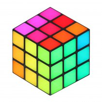 LEDJ Rubix RGB 3D Panel LED Cube Retro Style Effect DMX Disco DJ Lighting