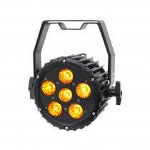 LEDJ Spectra Par 6HEX10 Exterior Fixture 6 x 10W RGBAUV LED Uplighter Outdoor DMX