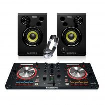 Numark Mixtrack Pro 3 Serato DJ Controller + Monitor Bundle DJ Disco inc Headphones / Leads