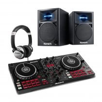 Numark Mixtrack Pro FX DJ Controller inc Speakers & Headphones Bundle