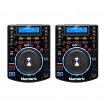 2x Numark NDX500 Professional CD Player USB CDJ Deck Disco DJ Player