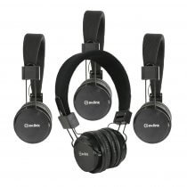 4x AV:Link Children's Headphones with in-line Microphone