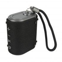 av:link Wave Waterproof Bluetooth Speaker Black HiFi Portable