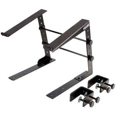 Pulse DJ Laptop Stand Heavy Duty Metal inc clamps