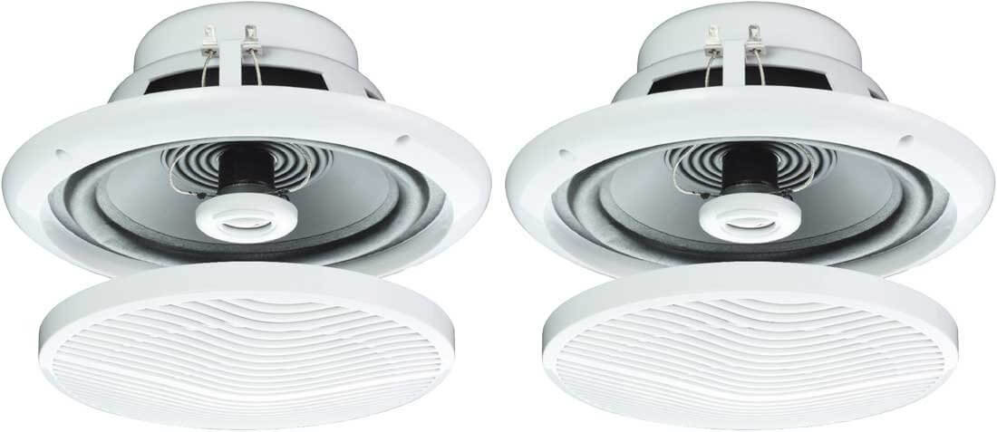 """E Audio Round Ceiling Speaker 5"""" 2 Way 8ohm 'Sold as Pair'"""