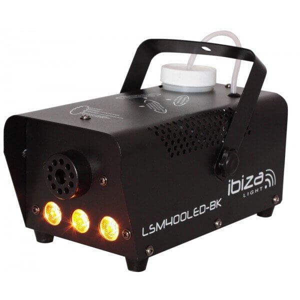 Ibiza LSM400BK 400W Smoke Machine with Amber Light x 3