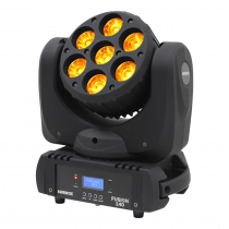 Equinox Fusion 140 Moving Head Wash 7 x 18W RGBWAUV
