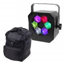 Equinox Hypnos Quad LED Water Effect Light inc. Carry Bag