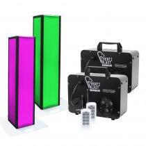 Equinox Verti Blast Package Vertical Smoke Machine CO2 Effect 1M Height Podium