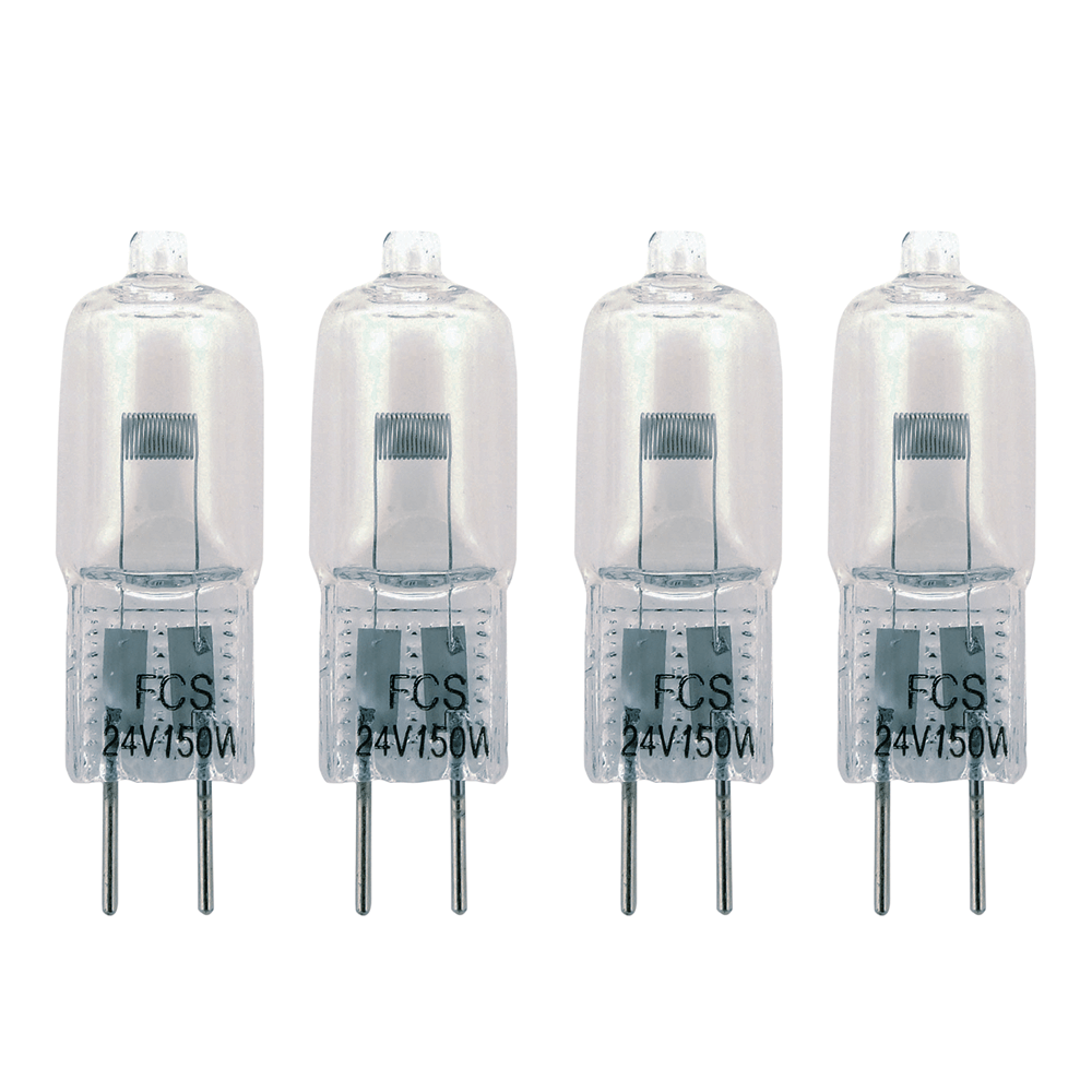 4x FXLab 150W 24V G6.35 Effects Capsule Lamp Lighting Bulb