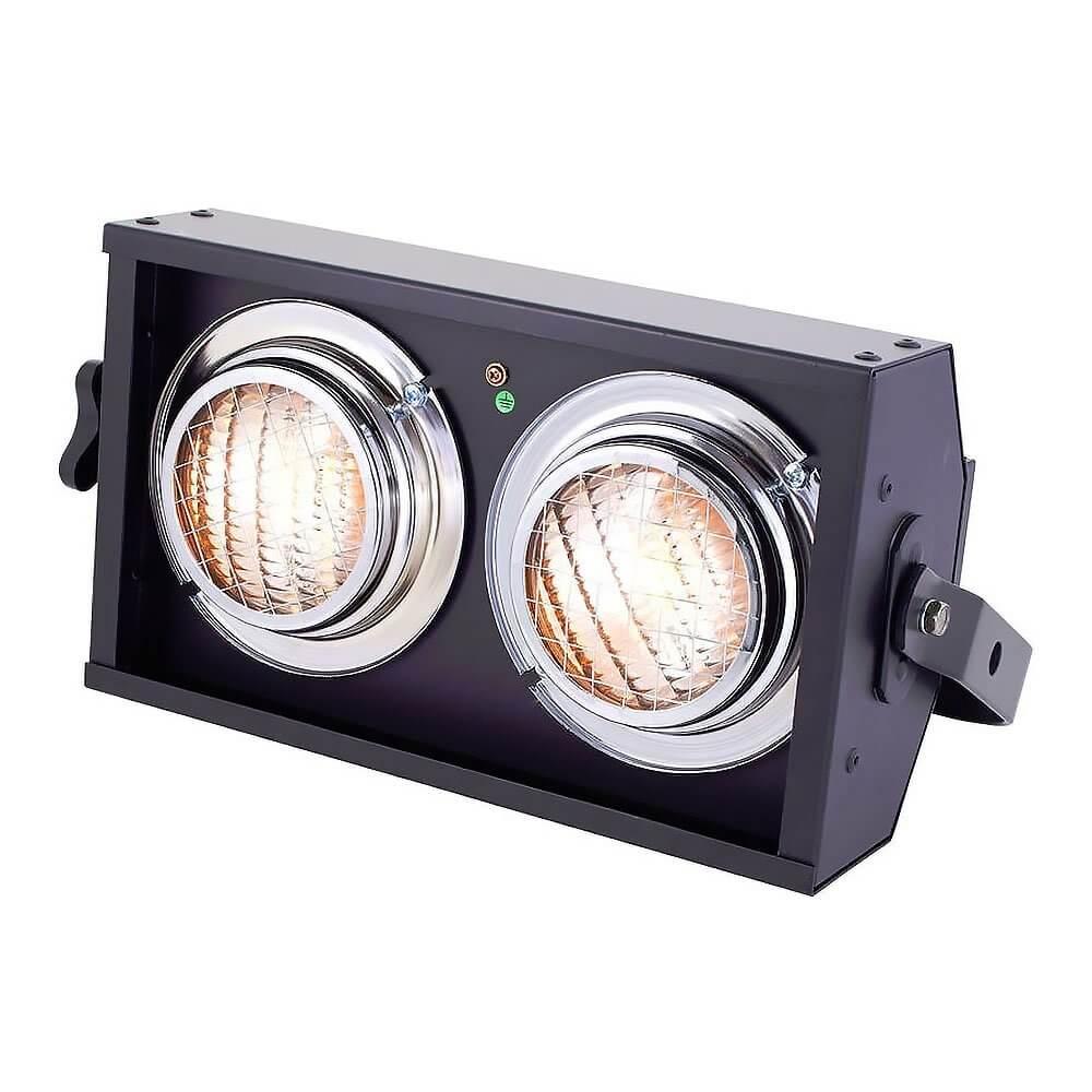 Showtec Stageblinder 2 DMX 2 x 650W Blinder Stage Lighting
