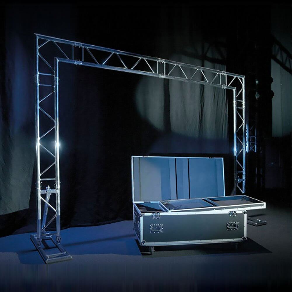 Showtec Mobile DJ Truss Stand Gantry Lighting Overhead