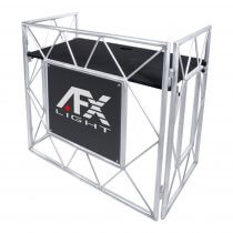 AFX Aluminum DJ Booth Foldable Disco Setup