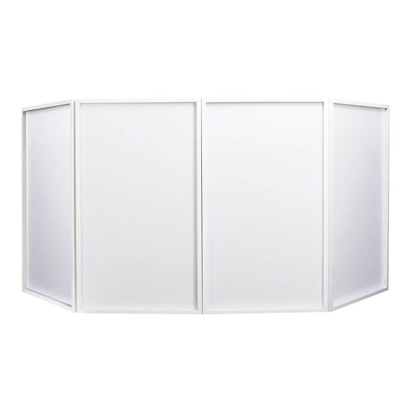 Equinox Foldable DJ Screen White (Bag Included)