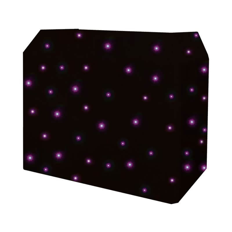 Equinox DJ Booth Quad LED Starcloth System MKII