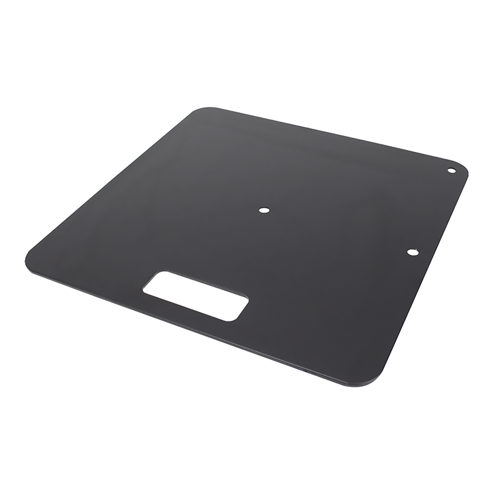 Equinox Pipe & Drape Base Plate (Black)