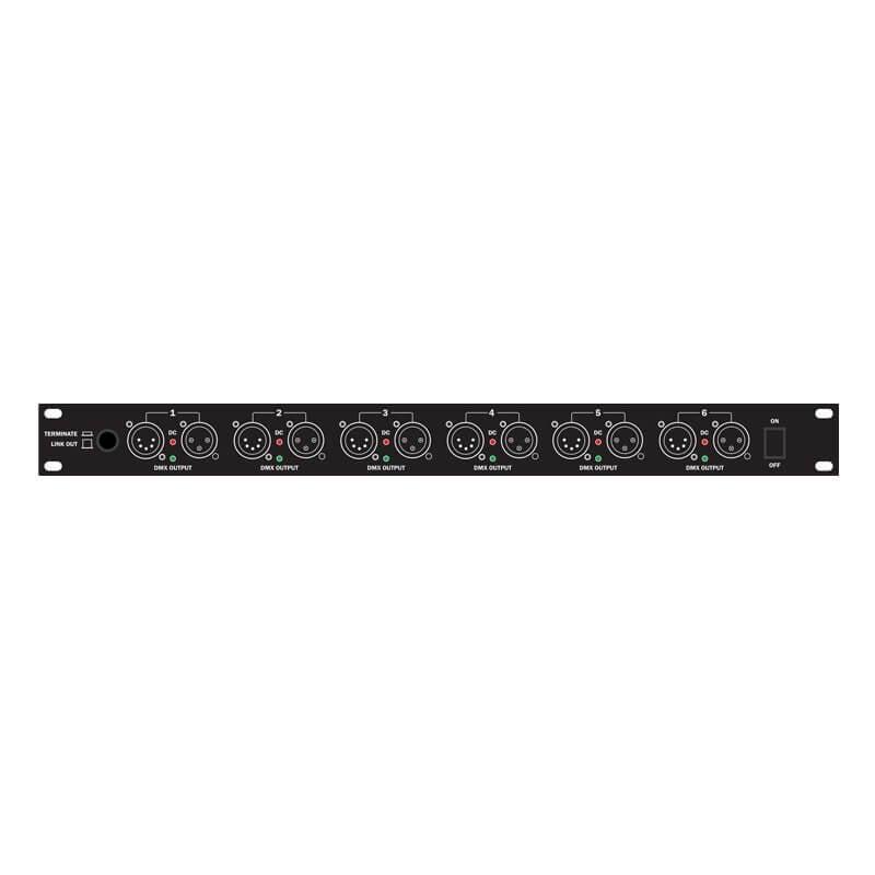Transcension RS6 DMX Splitter Distribution Booster