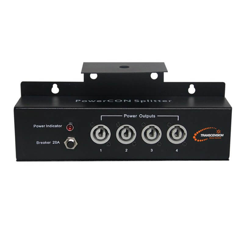 Transcension Powercon Splitter 1 to 4