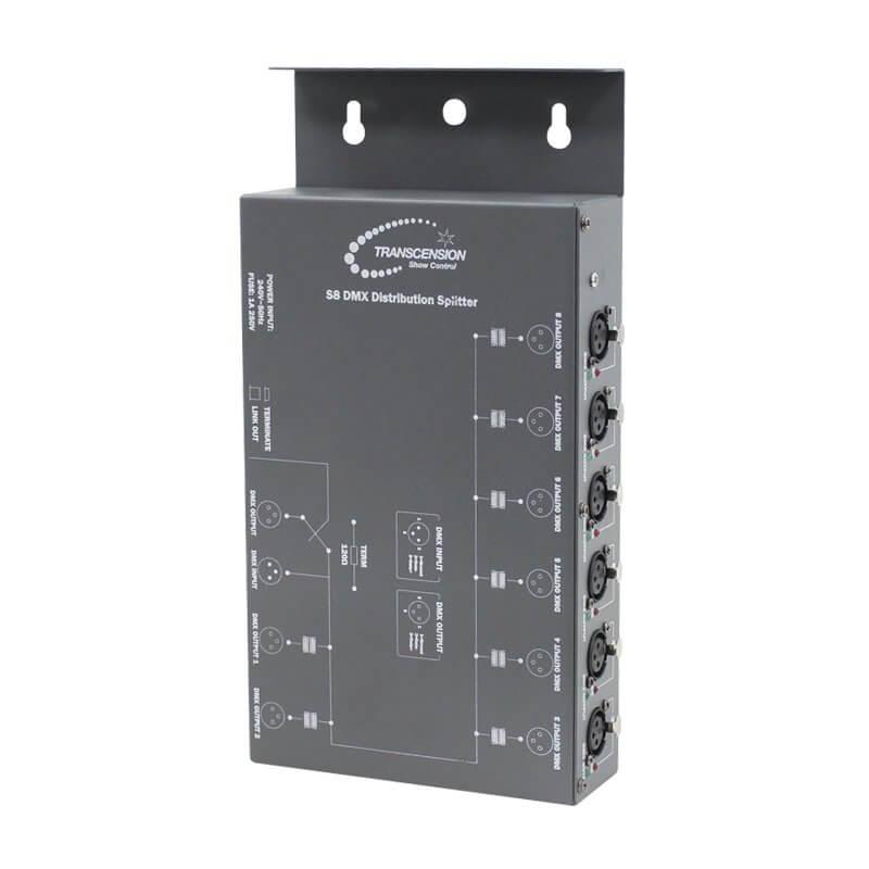 Transcension S8 DMX Distribution Splitter Box