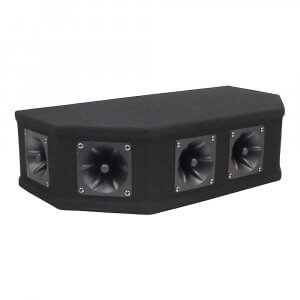 Soundlab 50W Piezo Tweeter Array Top Box