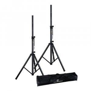 Soundsation SPS-SET70-BK PA Speaker Stand Kit with Carrying Bag
