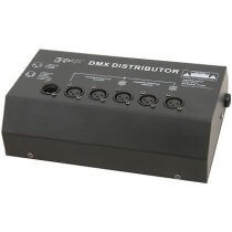 QTX DMX Splitter 4 Way Booster/Distributor LED Lighting