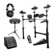 Carlsbro CSD100 Digital Drum Kit inc. Amplifier, Sticks, Headphones and Stool
