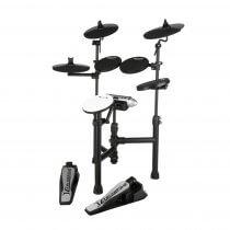 Carlsbro CSD120 Compact Electronic Drum Kit - 5 Piece USB Digital Set Foldable