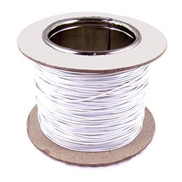 Loop Cable 100M Roll White Inc Cable Clips