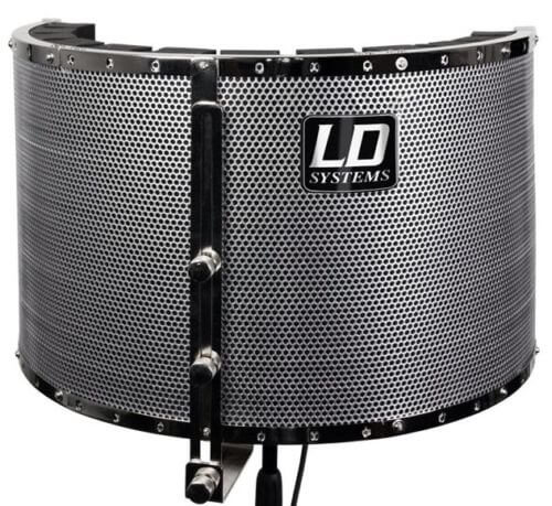 LD Systems RF1 Reflexion Filter Screen Studio Podcast