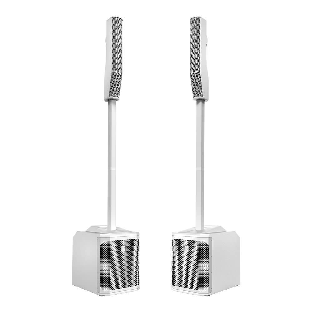 Electro-Voice EVOLVE 30M Portable Column Speaker System, White (Pair)