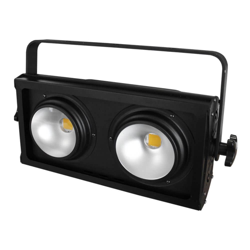 eLumen8 200W COB 3200K LED Blinder Warm 2 x 100W Stage Lighting DMX