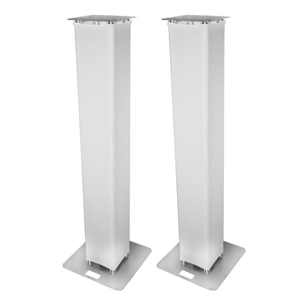 2x Simply Sound Moving Head Towers 2M Podium Plinths