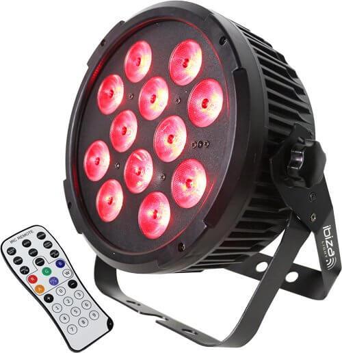 Ibiza Light DMX LED PAR CAN 12X 12W RGBWA-UV 6-IN-1