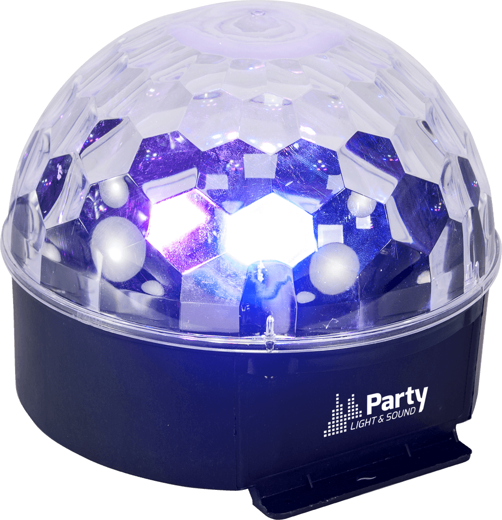 Party Light and Sound 6-COLOR ASTRO LED LIGHT EFFECT