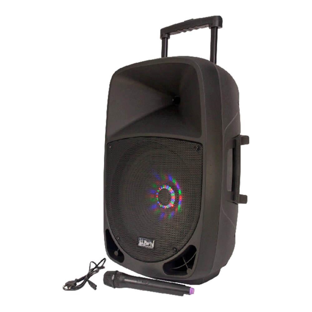 Party Light & Sound PARTY-15LED Portable Sound System