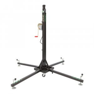 Kuzar K-3 Telescopic Lifter 5.35m 125kg SWL Winch Stand