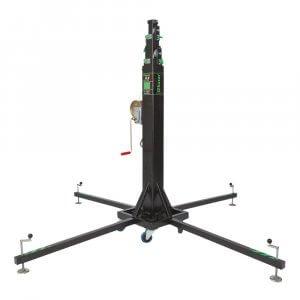 Kuzar K-8 Telescopic Lifter 6.5m 300kg SWL Winch Stand