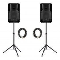 RCF ART712-A (MK4) Active 2Way Speaker (Bundle 1)