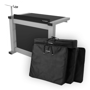Humpter Console BASIC DJ Booth inc. Laptop Stand and Carry Bags