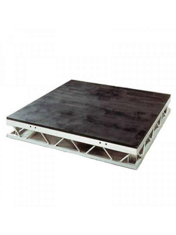 "Lightspace Spacedeck 4"" x 4"" Aluminium Stage Deck *Compatible with Litedeck*"