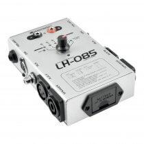 Omnitronic LH-085 Cable Tester XLR Speakon RCA Jack Phono DJ PA Disco